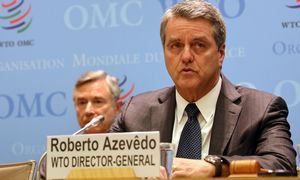 Tarptautinė prekyba ritasi į didžiosios depresijos laikus, įspėja PPO