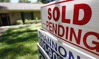 Prašymų būsto paskolai gauti skaičius JAV krito 12%