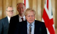 Su koronavirusu kovojančio JK premjero B. Johnsono būklė - stabili