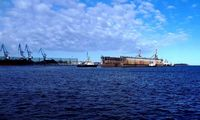 """""""Vakarų laivų gamykla"""" gavo ir eksploatacijai ruošia antrą laivų remontui skirtą doką"""