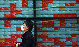 Investuotojų optimizmas dėl pandemijos suvaldymo išblėso