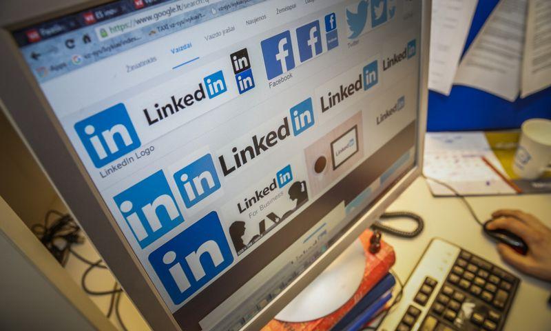 """Būdami pasyviais stebėtojais, tikrai neišnaudosite visų """"LinkedIn"""" galimybių. Vladimiro Ivanovo (VŽ) nuotr."""