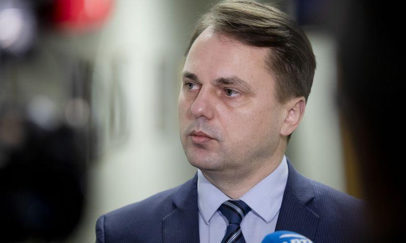 2020-01-15, Kęstutis Mažeika susitiko su Vaidu Laukiu. 2020 m. Sausio 15 d.