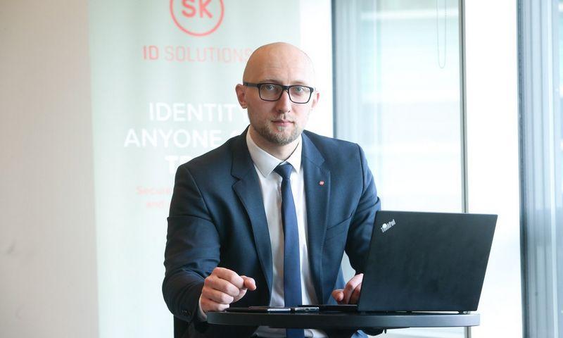 "Viktoras Kamarevcevas, ""SK ID Solutions"" vadovas Lietuvoje. Bendrovės nuotr."