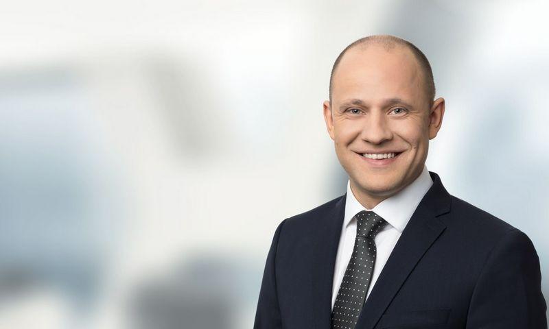 """Šarūnas Neniškis, advokatų kontoros """"Ellex Valiunas"""" asocijuotasis teisininkas."""