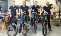 Elektrinio dviračio ratus įsukti padėjo paskola