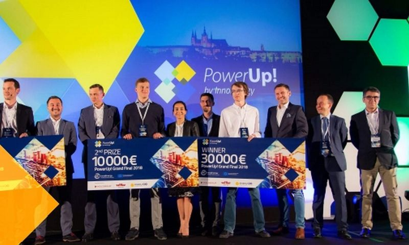 """""""PowerUp! Challenge"""" konkurso finalas 2018 m. Organizatorių nuotr."""