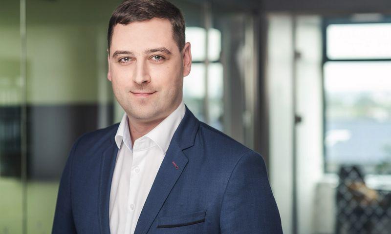 """Tomas Dabašinskas, įmonės """"Squalio Lietuva"""" vadovas."""