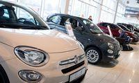 Karantinas naujų lengvųjų automobilių rinką sumažino 50,5%