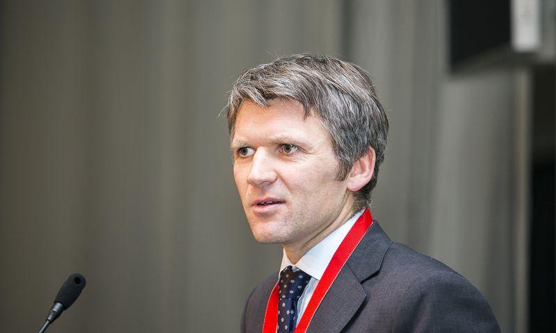 """Arijandas Šliupas, naujai paskirtas Lietuvos oro uostų valdybos pirmininkas. """"Scanpix"""" nuotr."""