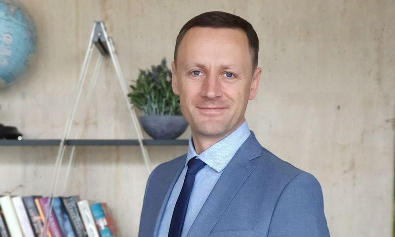 """Tomas Vilmanas, UAB """"Interneto svetainių dizainas"""" (""""Synergy effect"""") direktorius. Bendrovės nuotr."""