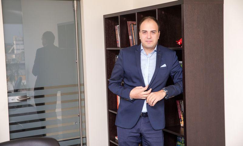 """dr. Lukas Macijauskas, bendrovės """"Synergy Finance"""" fondų valdytojas. Vladimiro Ivanovo (VŽ) nuotr."""