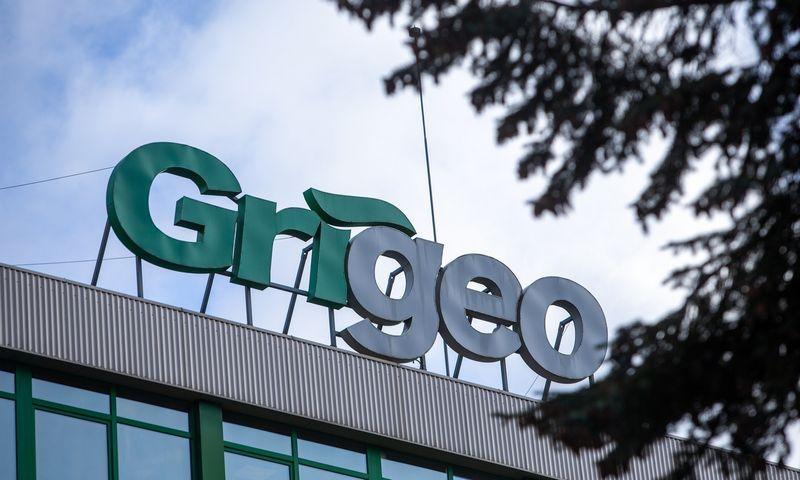 """AB """"Grigeo"""" grupės pastatai, logotipai. Vladimiro Ivanovo (VŽ) nuotr."""