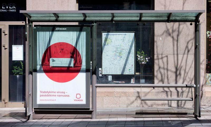 Lauko reklamos stendai Vilniuje. Juditos Grigelytės (VŽ) nuotr.