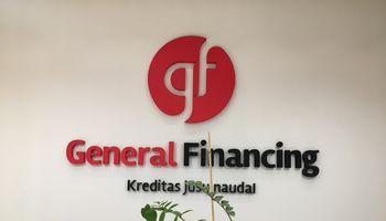 """General Financing"" pradedapriimti indėlius"
