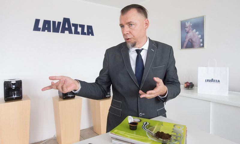 """Arūnas Pinkevičius, UAB """"Itališka kava"""", direktorius: """"Praėjusį penktadienį sulaukėme VMI kvietimo užpildyti paraišką subsidijai. Vadinasi, ryt ar poryt turėtume sulaukti pinigų"""". Juditos Grigelytės (VŽ) nuotr."""