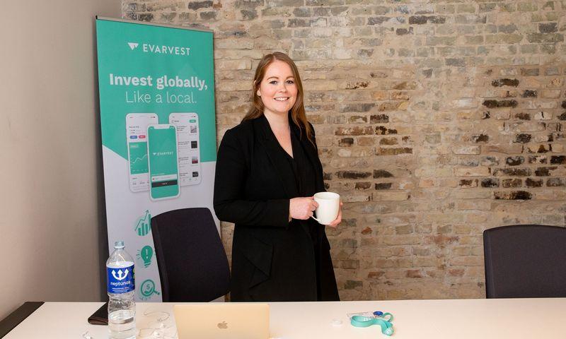 """Stephanie Brennan, startuolio """"Evarvest"""" generalinė direktorė. Juditos Grigelytės (VŽ) nuotr."""