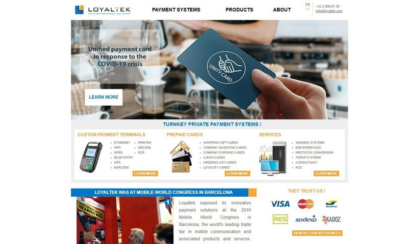 """""""Loyaltek"""" jau apie 10 metų dirba mokėjimų srityje, įskaitant dovanų kortelių sprendimus ir profesinių išlaidų programas. """"Paynovate NV"""" yra jos antrinė bendrovė. VŽ ekrano nuotr."""