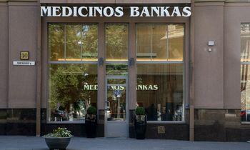 Medicinos banko pelnas mažėjo 12%