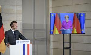 """""""Taupusis ketvertas"""" atšaldė A. Merkel ir E. Macrono iniciatyvą"""