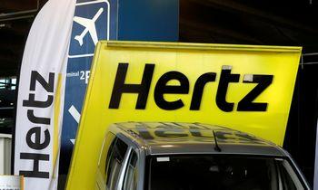 """Hertz"" pradėjo bankroto procedūrą"