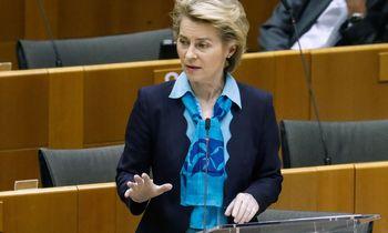 """U. von der Leyen pradeda """"trilijono eurų"""" kovą už ekonomikos atsigavimą"""