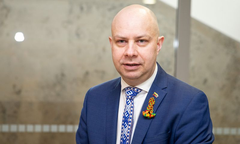 Sveikatos ministras Aurelijus Veryga. Vladimiro Ivanovo (VŽ) nuotr.