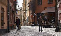 Griežto karantino neskelbusi Švedija ekonomikos kritimo neišvengė