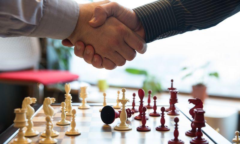 Ilgus metus personalo vadovai norėjo būti įleisti į CEO kabinetus ir įtraukti į aukščiausių bendrovės vadovų gretas. Dabar prie šio įsivaizduojamo apskritojo stalo jie gavo savo vietą. Juditos Grigelytės (VŽ) nuotr.