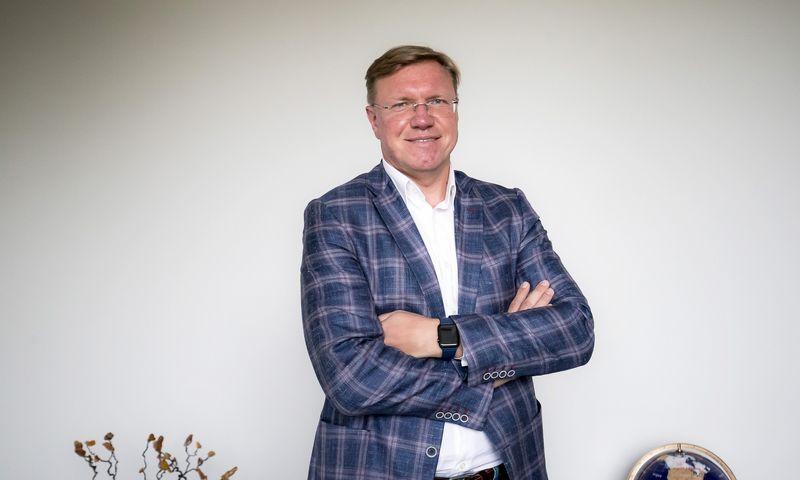 """Vytas Volkevičius, """"Hoptrans Holding"""" vadovas ir pagrindinis akcininkas. Ramūno Guigos nuotr."""