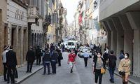 Italijos ekonomika pirmąjį ketvirtį susitraukė daugiau, nei tikėtasi