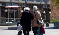 Bent vienos rūšies pensiją pernai gavo 0,9 mln. gyventojų