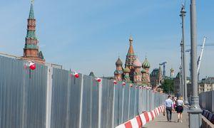 Rusijos BVP balandį smuko 12%