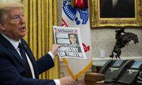 """D. Trumpo atkirtis """"Twitter"""":griežtina socialinių tinklųreguliavimą"""
