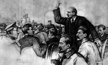 Spalio perversmas: V. Leninassavo tikslų siekė už Vokietijos pinigus