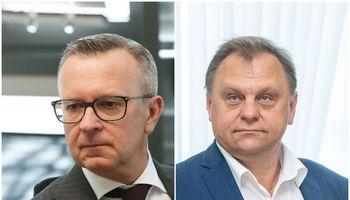 Įtariama, kad V. Sutkus ir M. Zalatoriusgalėjo darytineteisėtą poveikį teisėkūrai