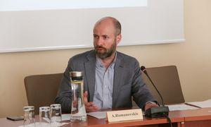 Kai verslas daro poveikį valdžiai – tai laikoma neteisėta, stebisi LVK viceprezidentas A. Romanovskis