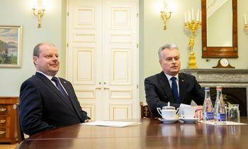 """Vyriausybė taria """"ne"""" prezidento iniciatyvai mažinti GPM tarifą"""