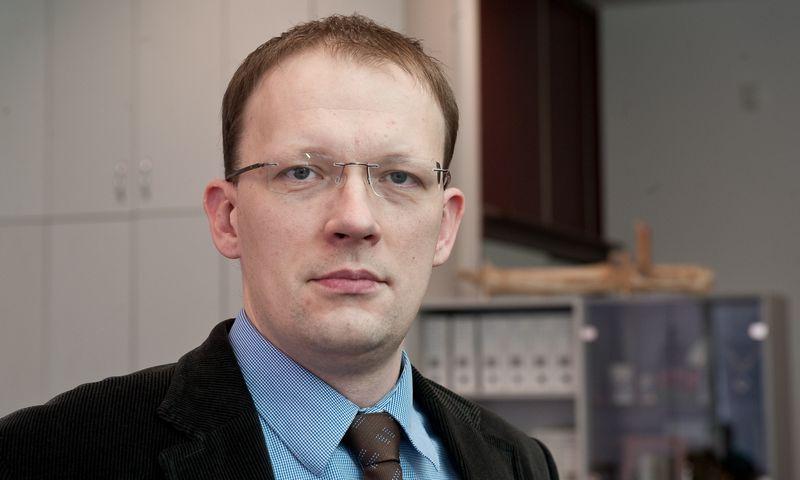 Aidas Budrys, Lietuvos bankų asociacijos viceprezidentas. Herkaus Milaševičiaus nuotr.