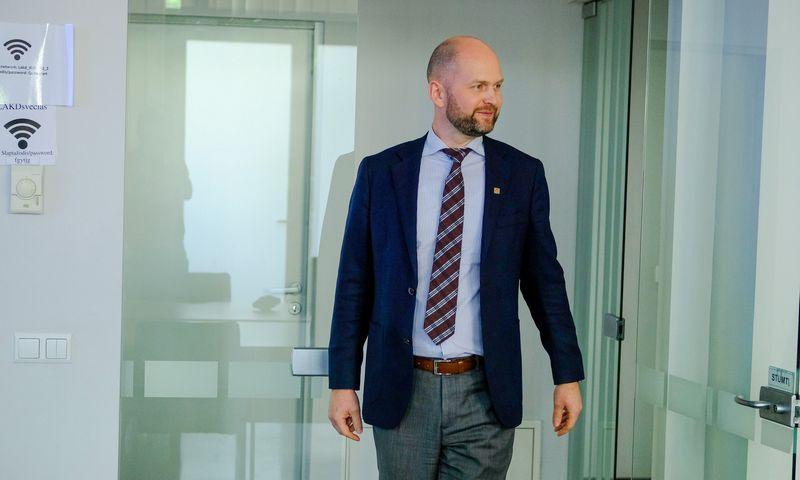 Vitalijus Andrejevas, Lietuvos automobilių kelių direkcijos vadovas. Vladimiro Ivanovo (VŽ) nuotr.