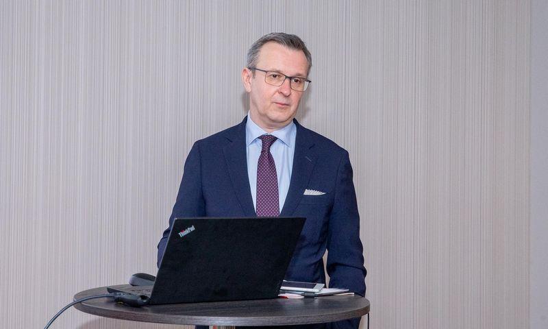 Mantas Zalatorius, buvęs Lietuvos bankų asociacijos prezidentas. Juditos Grigelytės (VŽ) nuotr.