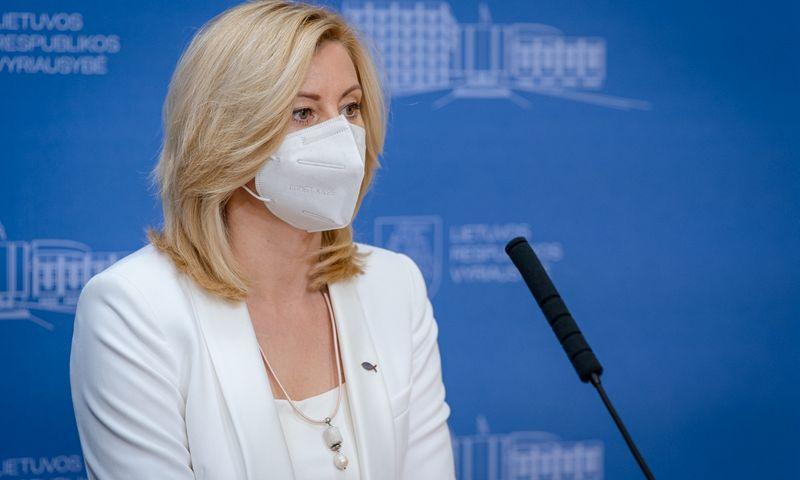 Rita Tamašunienė, vidaus reikalų ministrė. Dariaus Janučio (LRVK) nuotr. Įmonės nuotr.