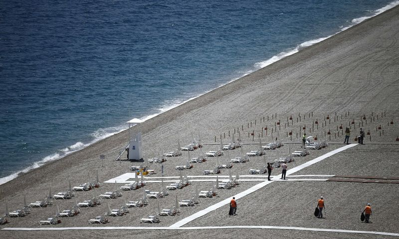Antalijos paplūdimys. (ZUMA Wire/Scanpix nuotr.)
