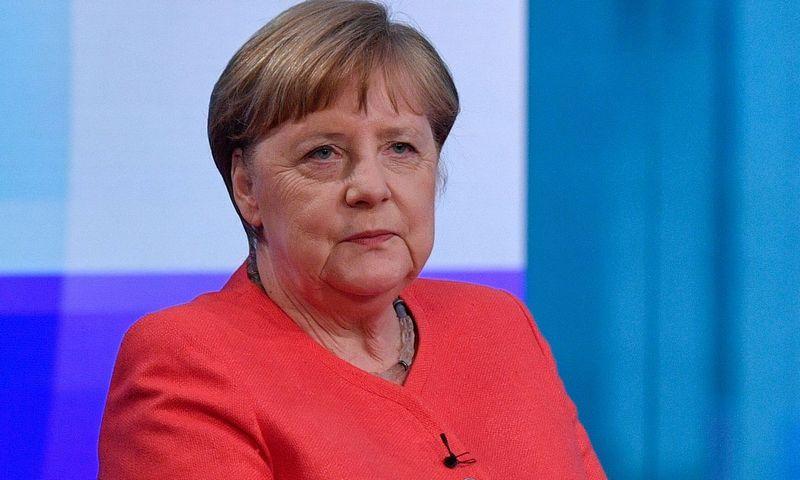 """Angela Merkel, Vokietijos kanclerė. Johno Macdougal (""""AFP"""" / """"Scanpix"""") nuotr."""