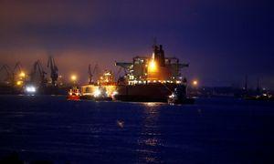 Į Klaipėdą atplaukė pirmasis JAV naftos krovinys Baltarusijai