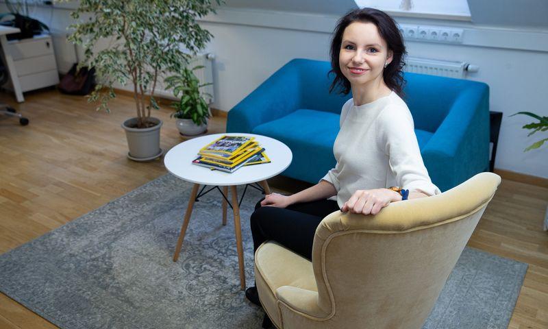 """Natalija Norvilė, darbuotojų atrankos ir vertinimo įrankių bei paslaugų įmonės """"Addelse"""" ekspertė. Vladimiro Ivanovo (VŽ) nuotr."""