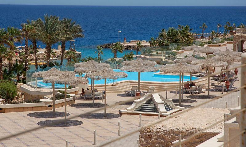 Hurgada - Egipto kurortas, įsikūręs Raudonosios jūros. Nijolės Talutytės nuotr.