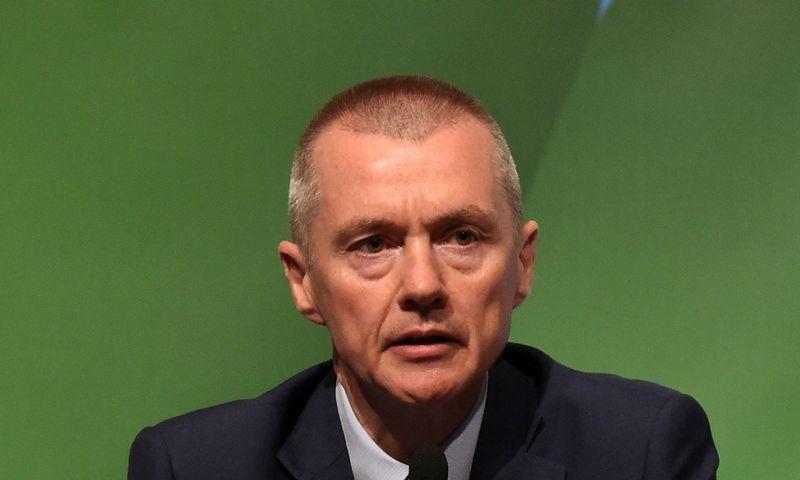 "Willie Walshas, ""International Airlines Group"" generalinis direktorius. Clodagh Kilcoyne (""Reuters"" / ""Scanpix"") nuotr."