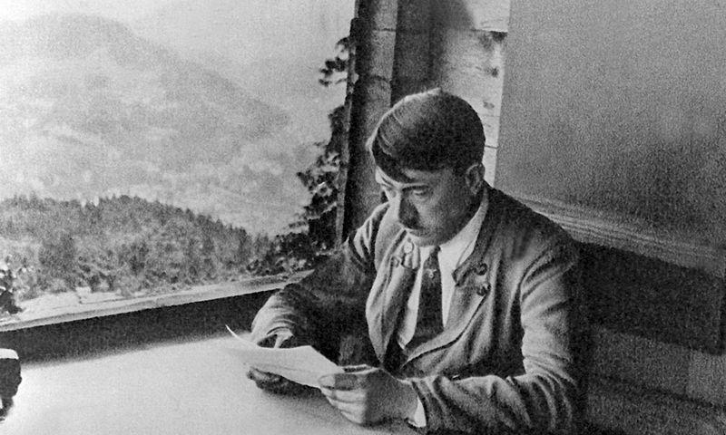 "Nacionalsocialistų lyderis Adolfas Hitleris, data nenustatyta. DPA / ""Scanpix"" nuotr."