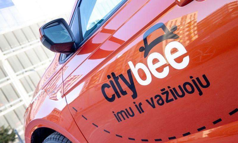 """CityBee"" automobilis. Juditos Grigelytės (VŽ) nuotr."
